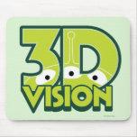 3D Vision Alfombrillas De Ratones