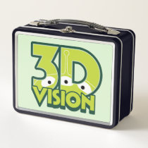3D Vision Metal Lunch Box