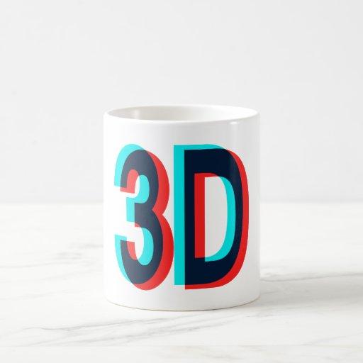 3D Watching I'm 3D Items Coffee Mugs