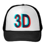 3D Watching I'm 3D Items Hats