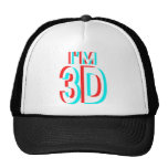 3D Watching I'm 3D Items Mesh Hats
