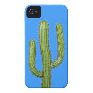 3d Wild West Cactus (editable) iPhone 4 Case-Mate Case