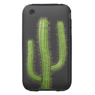3d Wild West Cactus (editable) iPhone 3 Tough Covers