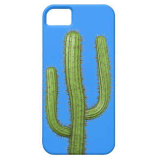 3d Wild West Cactus (editable) iPhone 5 Covers