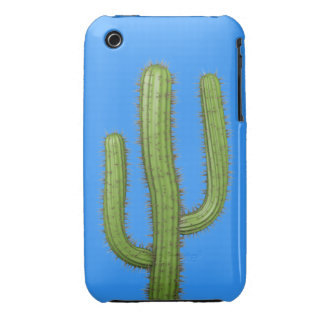 3d Wild West Cactus (editable) iPhone 3 Covers
