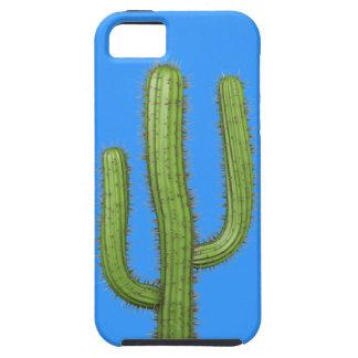 3d Wild West Cactus (editable) iPhone 5 Case