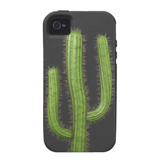 3d Wild West Cactus (editable) Case For The iPhone 4