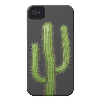3d Wild West Cactus (editable) iPhone 4 Case-Mate Cases