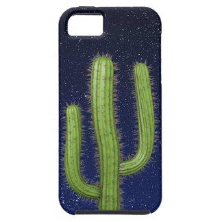 3d Wild West Cactus Starry Sky (editable) iPhone 5 Cases