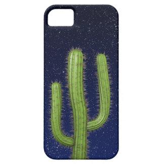 3d Wild West Cactus Starry Sky (editable) iPhone 5 Cover