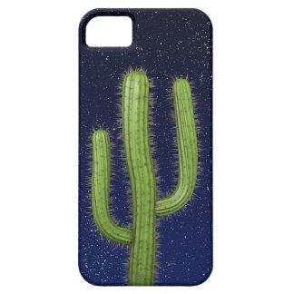 3d Wild West Cactus Starry Sky (editable) iPhone 5 Case