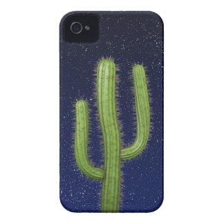 3d Wild West Cactus Starry Sky (editable) Case-Mate iPhone 4 Case