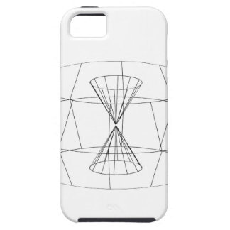 3d wireframe render object iPhone SE/5/5s case