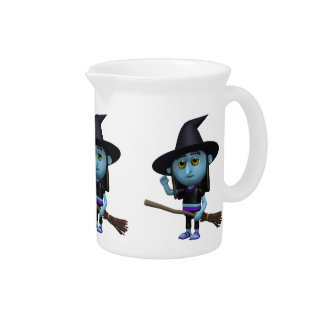 3d Witch Waves Hello (Any Color U Like!) Pitchers