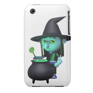 3d Witches Cauldron (Any Color U Like!) Case-Mate iPhone 3 Cases