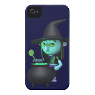 3d Witches Cauldron (Any Color U Like!) iPhone 4 Case