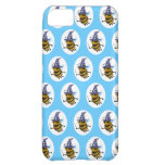 3d Wizard Bee (editable background!) iPhone 5C Cases
