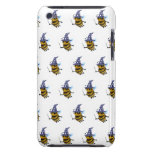 3d Wizard Bee (editable background!) Barely There iPod Covers