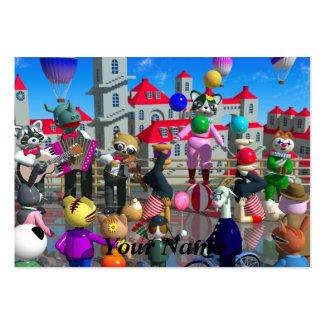3DCG fantasy Business Card