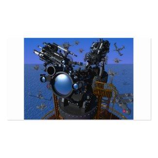 3DCG mechanism Business Cards
