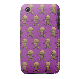 3dEgyptian Mummy Chase!(with editable background!) Case-Mate iPhone 3 Case