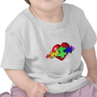 3DHeartPuzzle Camiseta