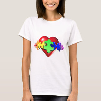 3DHeartPuzzle T-Shirt