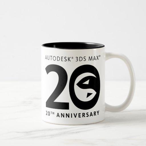 3ds Max 20th Anniversary Mug