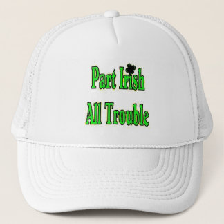 3e15a Part Irish All Trouble Trucker Hat