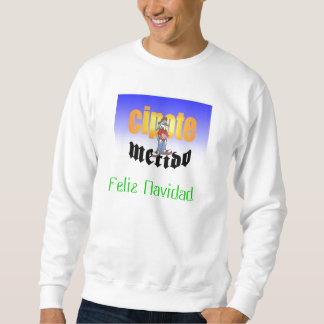 3f4e, Feliz Navidad Sweatshirt