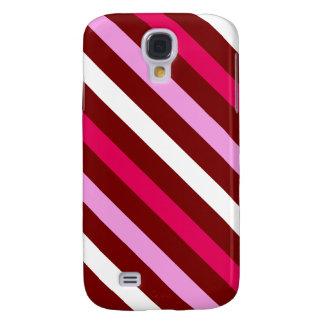3G Candy Cane Stripe  Galaxy S4 Case