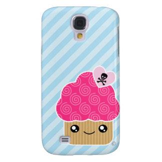 3G Evil Cute Cupcake  Samsung S4 Case