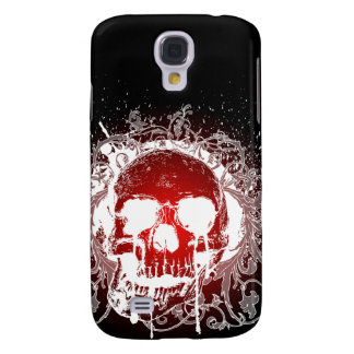 3G Gothic Skull Red  Samsung Galaxy S4 Cover