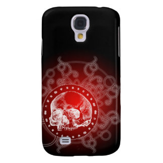 3G Gothic Skull Red  Samsung Galaxy S4 Cases