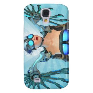 3G Mech Angel Surreal Art  Galaxy S4 Case
