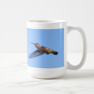 3J2 Hummingbird in a Blue Idaho Sky Coffee Mug