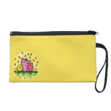 #3Kats Medium Cosmetic Bag