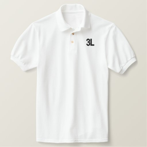 3L EMBROIDERED POLO SHIRT