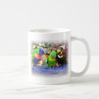 3Lorikeets_0987 Coffee Mug