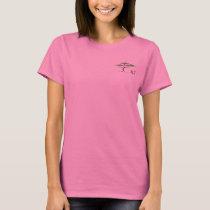 3LT Front Logo, Women's Basic T-Shirt