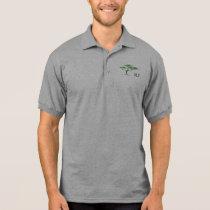 3LT logo, Men's Gildan Jersey Polo Shirt