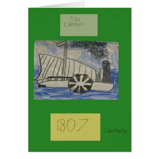 3M Hudson River Timeline - ZACHARY Greeting Card