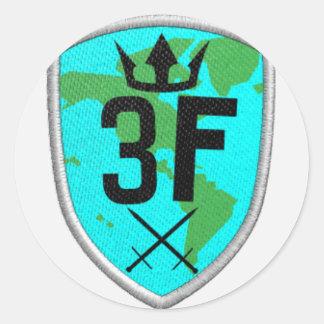 3mbrace Fate Classic Round Sticker