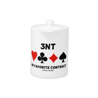 3NT (Three No Trump) My Favorite Contract