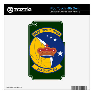 3rd Airlift Squadron Decals For iPod Touch 4G