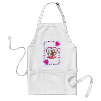 3rd Anniversary - Leather Adult Apron