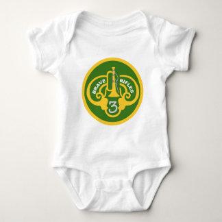 3rd Armored Cavalry Regiment Baby Bodysuit