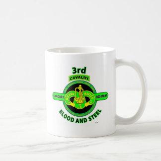 "3RD ARMORED CAVALRY REGIMENT""BRAVE RIFLES"" COFFEE MUG"