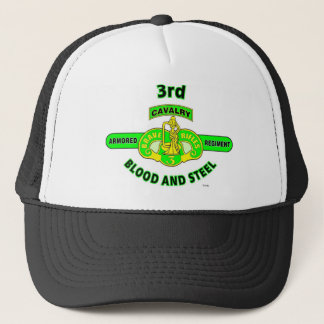 "3RD ARMORED CAVALRY REGIMENT ""BRAVE RIFLES"" TRUCKER HAT"