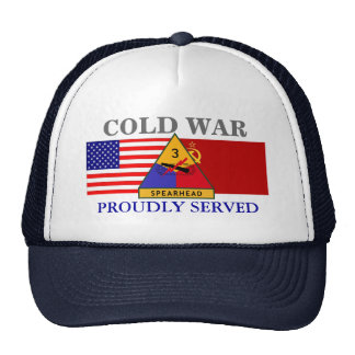 3RD ARMORED DIVISION COLD WAR HAT